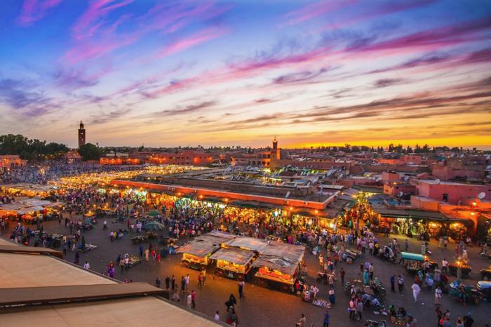 Excursion Marrakech, départ d'Agadir