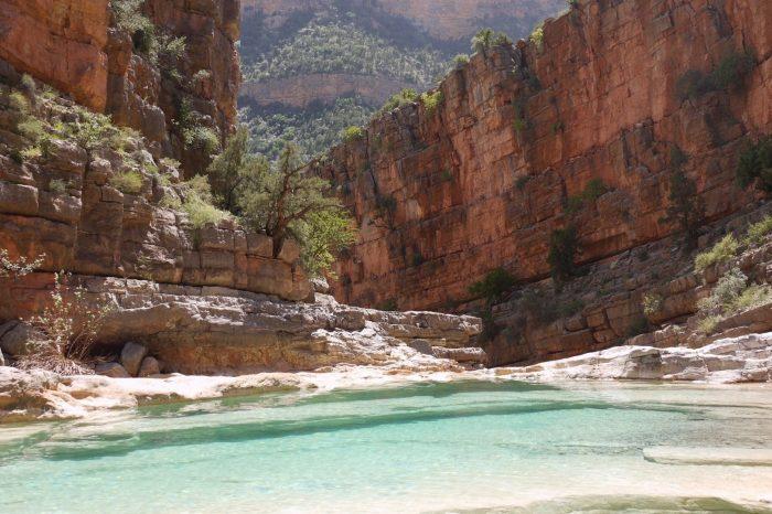 Excursion La Vallée de Paradis, Départ d'Agadir