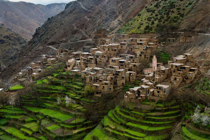 Imlil et les 3 vallées